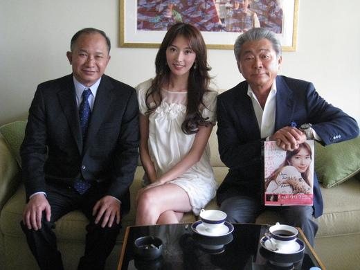 韓流女優とみのもんた