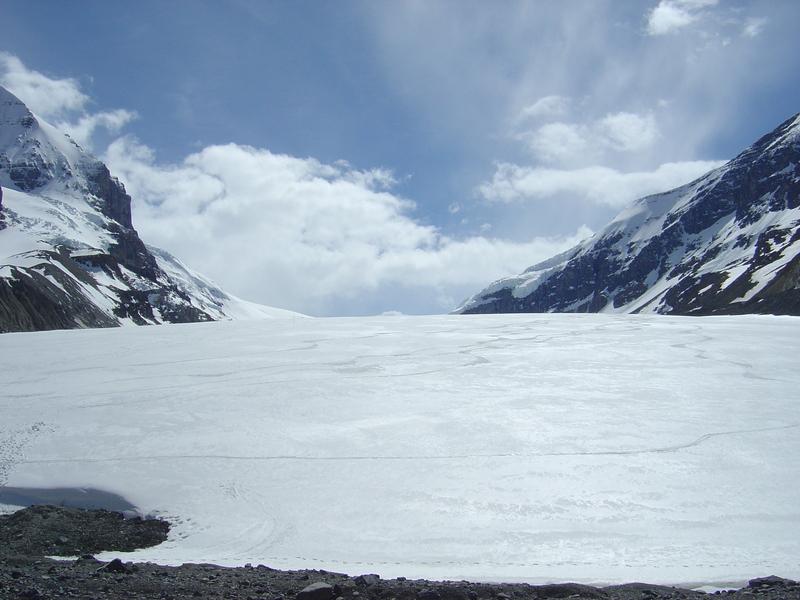 加拿大--落磯山脈--冰河