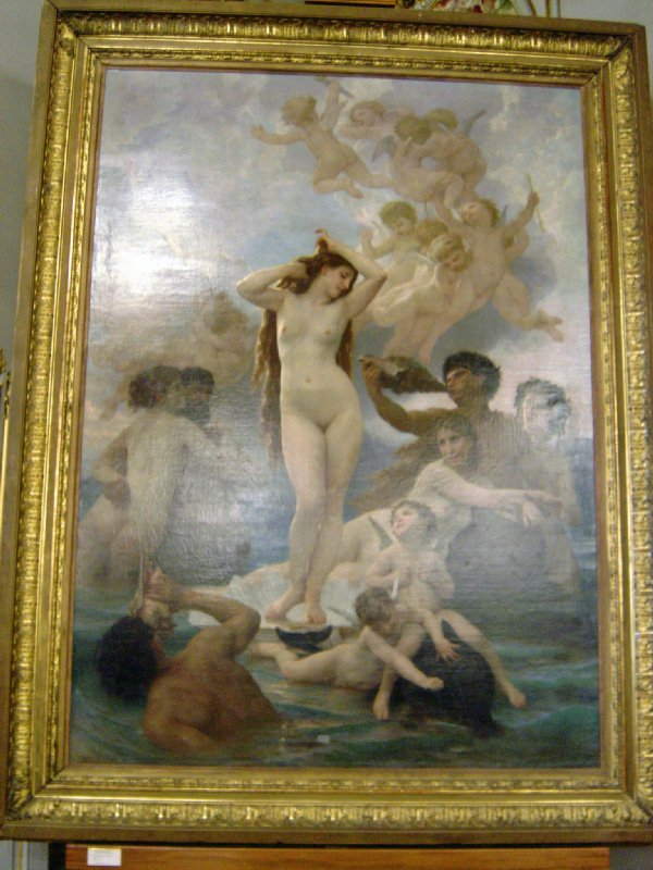 維納斯女神的誕生William Bouguereau-La naissance de Venus