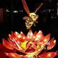 (194)鹿港燈會2012-北燈區之蜜蜂採蜜花燈