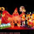 (196)鹿港燈會2012-北燈區之海綿寶寶家族花燈