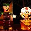 (199)鹿港燈會2012-北燈區之瑪莉兄弟與小胖花燈