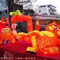 (202)鹿港燈會2012-南燈區之加菲貓與豆豆龍花燈