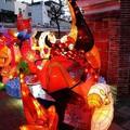 (204)鹿港燈會2012-南燈區之大兜蟲花燈
