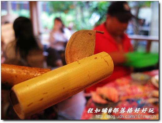 陳班長巧妙利用天然材料,製成竹蜻蜓、鳥笛、竹鶴等各種童玩