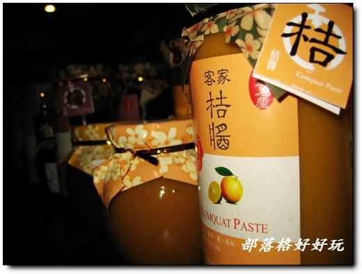 竹東知名的「阿金姊」系列客家桔醬