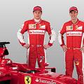 Ferrari車隊 右 Sebastian Vettel 及 Kimi Raikkonen
