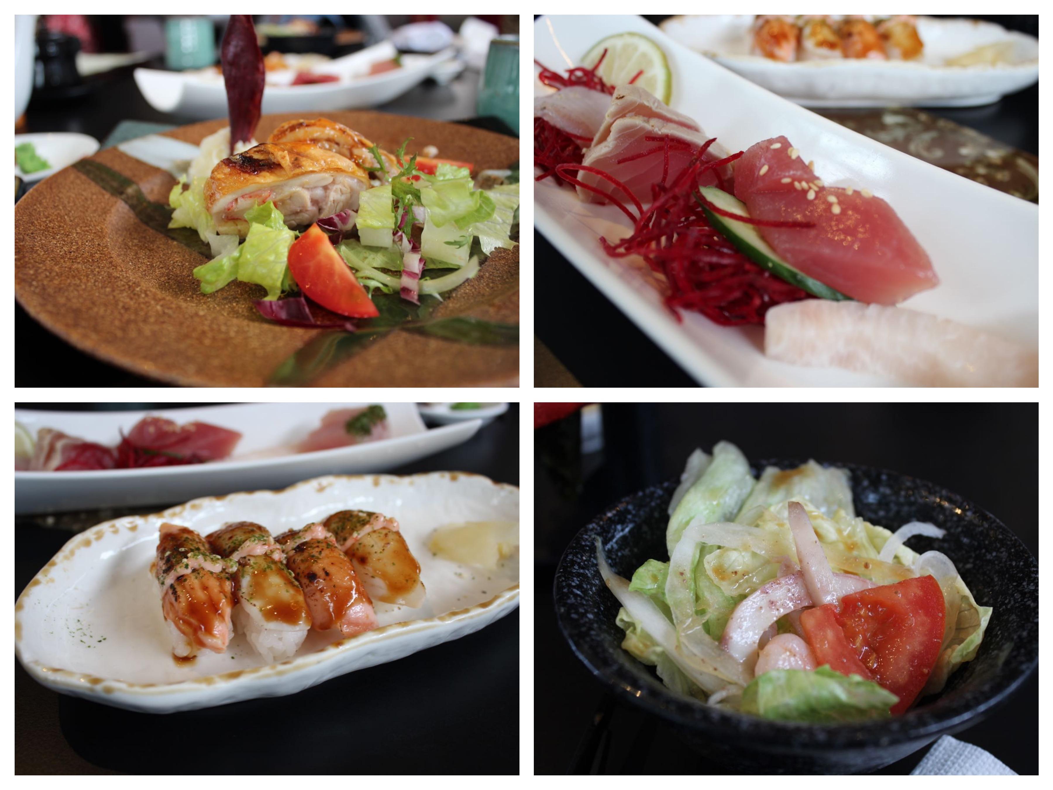 台中遊:日本料理吃到飽「清新溫泉飯店《景餐廳》」