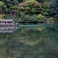 愛上京都的復古。秋天,楓葉如此迷人。