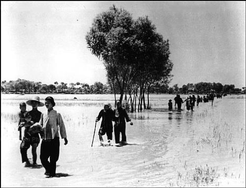 黃河花園口決堤
