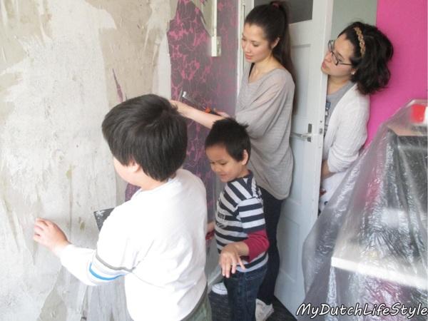 愛的操練,居家修繕從小參與