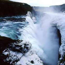 冰岛Gullfoss