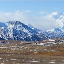 阿拉斯加毗邻北极的迪那利国家公园