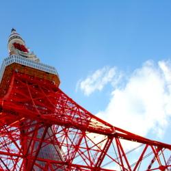 日本的东京铁塔