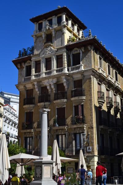 馬德里街景建築