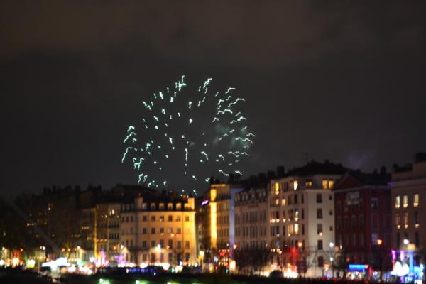 里昂[Lyon]燈光節 煙火