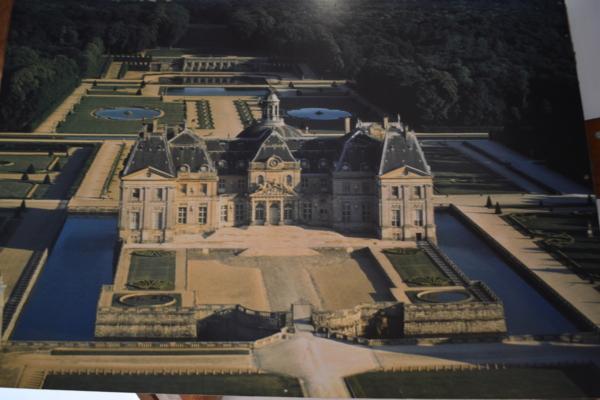 沃勒子爵城堡—Chateau de Vaux le Vicomte 城堡全景圖