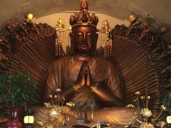 觀音山凌雲禪寺-千手千眼觀世音菩薩聖像