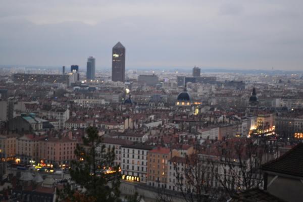 里昂市最高地標[有鉛筆塔之稱]的塔樓