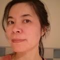 運動完後的我,不過這已經是大概三年前了! 歲月如梭! 也沒化妝!