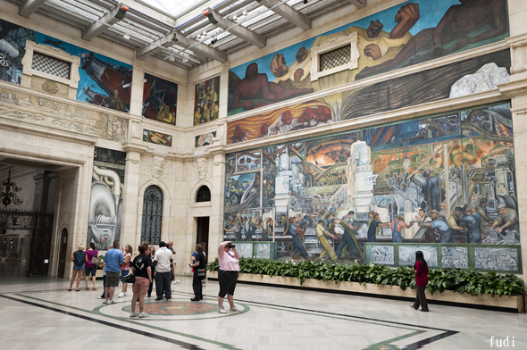 Udn for Diego rivera mural detroit institute of arts