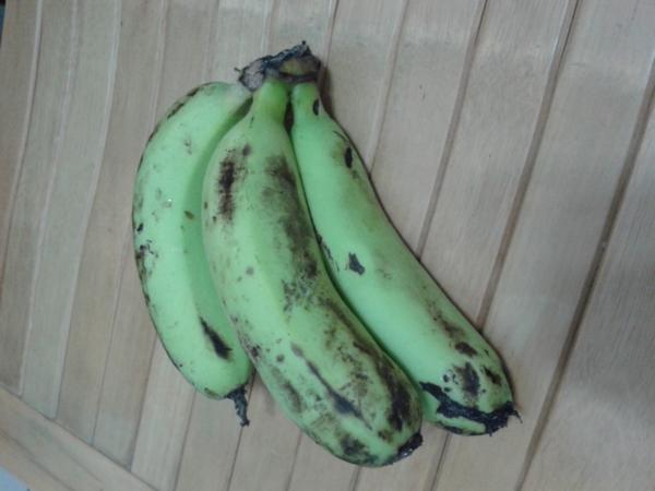 可以吃的綠香蕉