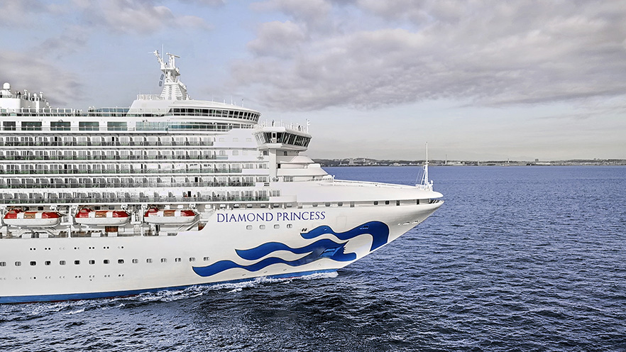 鑽石公主號日本玩樂全攻略 一次暢玩東洋四大名城、海上最大日式浴場、新鮮漁獲壽司