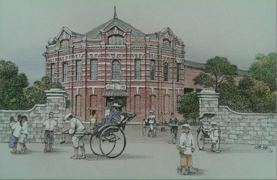 台南大菜市與台北西門町新起街市場 回到1919-「台南府城藝鄉情.院」展覽
