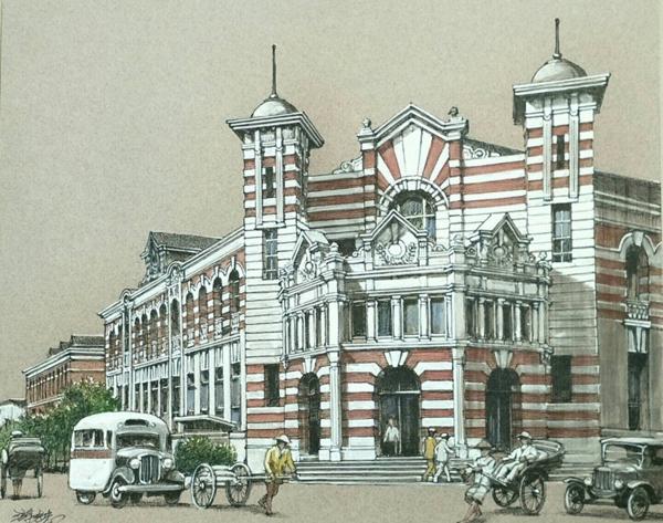 回到1919-畫說台灣建築文化遺產 第二站-「台南府城藝鄉情.院」展覽