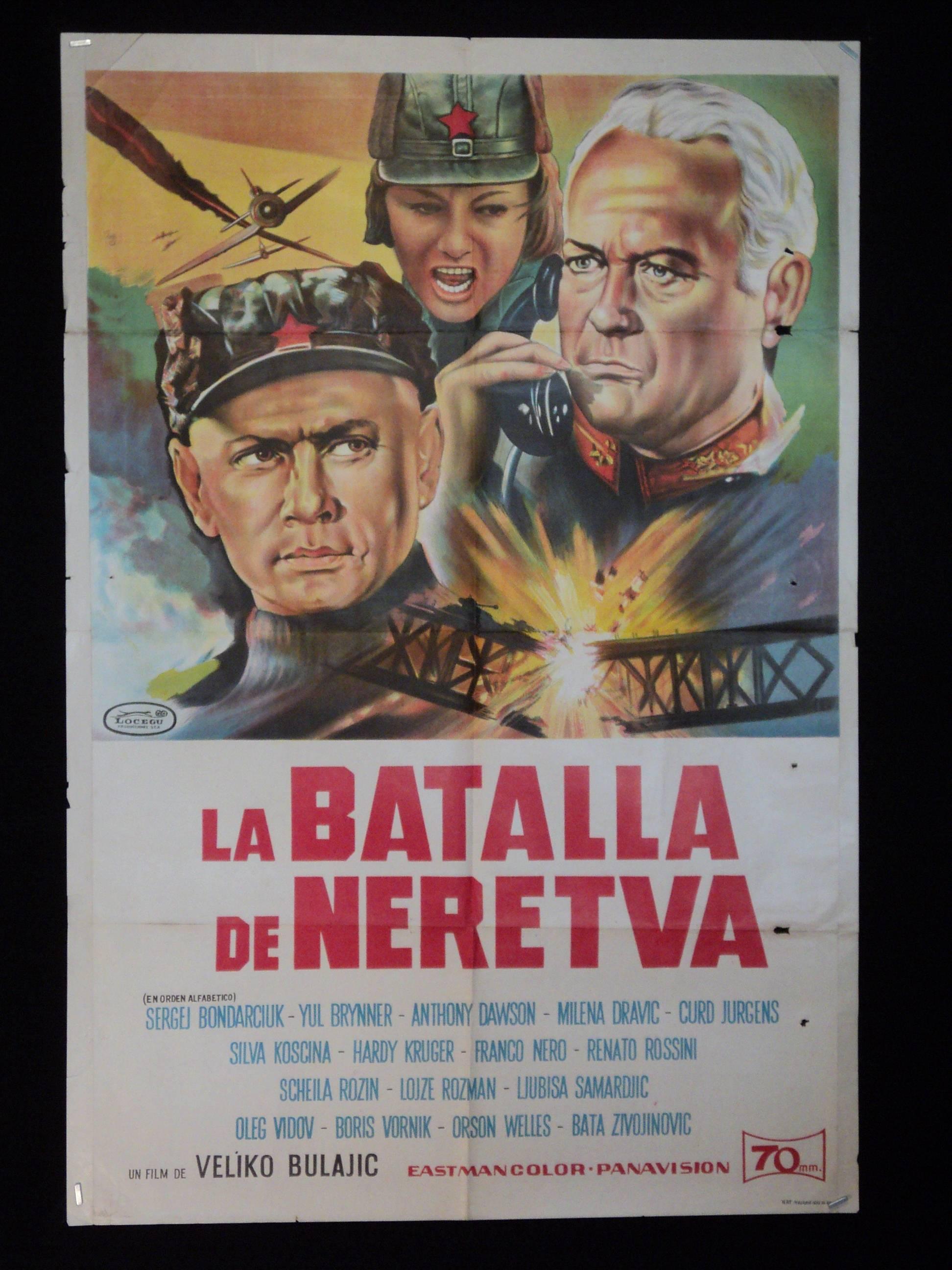 Battle of Neretva - Movie Soundtrack by Bernard Herrmann