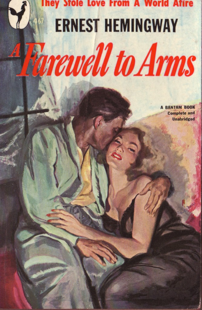 catherine and old fashioned love in a farewell to arms