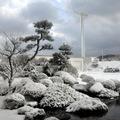 046 庭園雪景