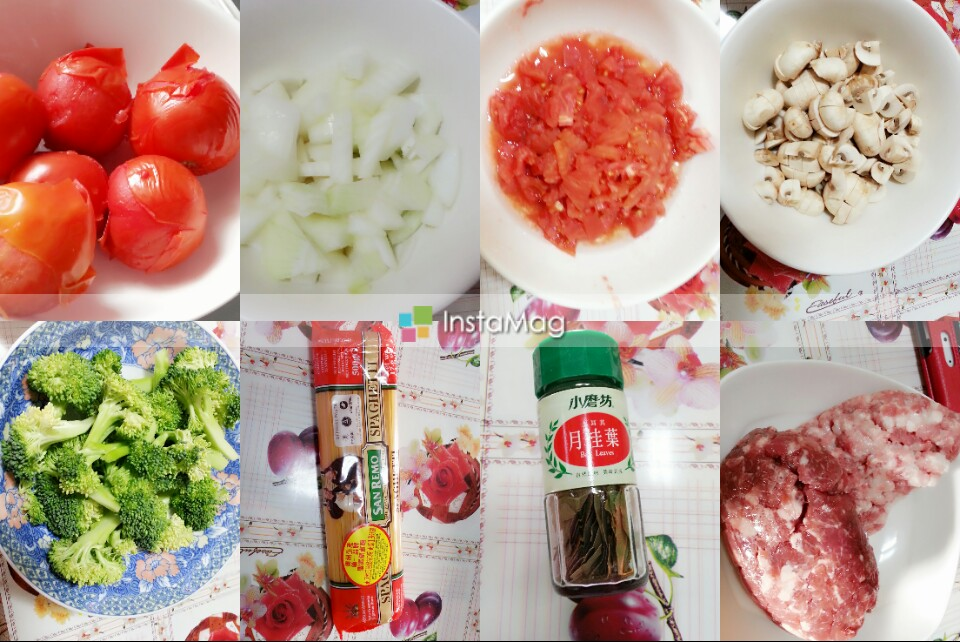 蕃茄肉醬義大利麵