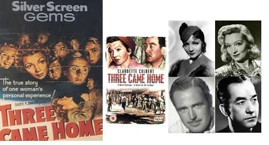 Three Came Home 1950 Review