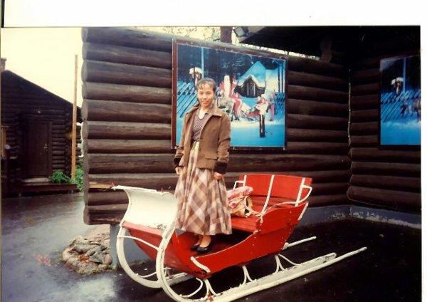1996年首次北歐四國之旅
