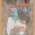 Hat, Lady and Little Table by Paul Klee, 1932, Guggenheim Museum
