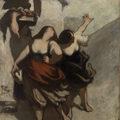 The Ribalds (Les Ribaudes) by Honoré Daumier, Barnes Foundation
