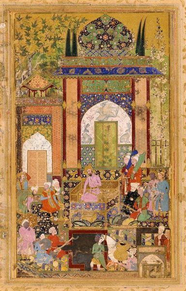 蒙古/印度宮廷藝術──融合波斯 印度與伊斯蘭風格的 蒙兀兒繪畫/mughal Painting 第凡內早餐