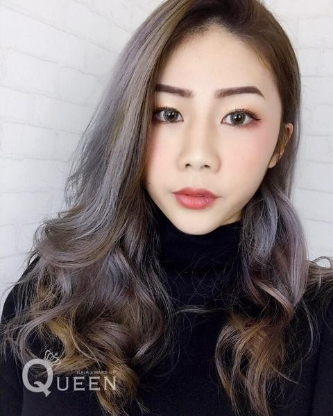 歐美霧感染髮