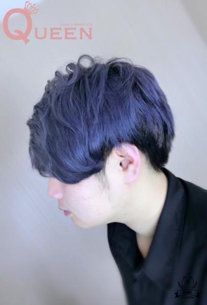 灰霧感髮色