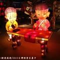 (279)民俗文化燈區-小沙彌花燈