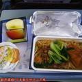 (004)去程-飛機餐