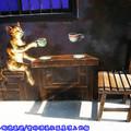 (12)雲林頂溪社區-屋頂上的貓