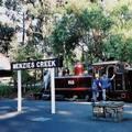 (258)墨爾本-丹頓農區古董蒸汽火車月台