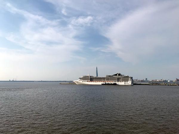 港内其它豪华邮轮