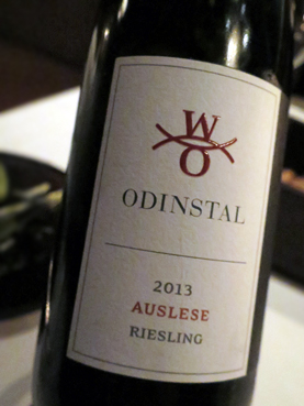 2013 Odinstal Riesling Auslese