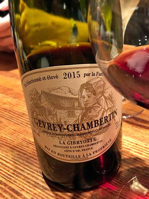 2015 Claude Dugat La Gibryotte Gevrey-Chambertin