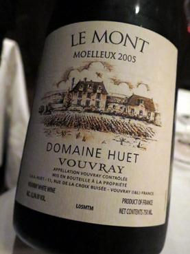 2005 Domaine Huet Vouvray Le Mont Moelleux