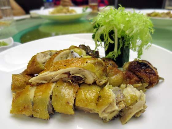 古法鹽焗雞