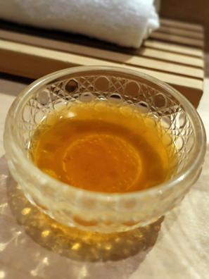 色浅味淡的橙醋